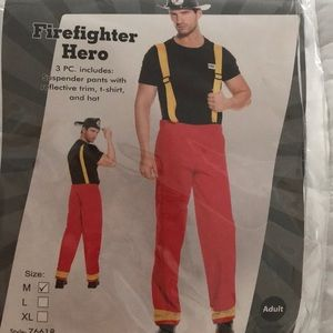 Fire fighter Halloween costume